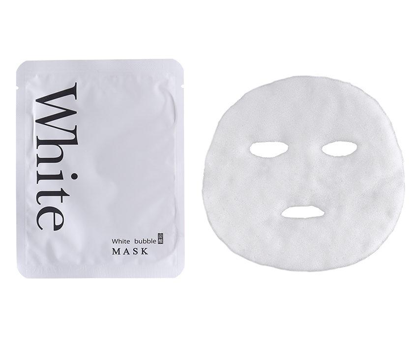 ホワイトバブルマスク_炭酸パック_美白パック